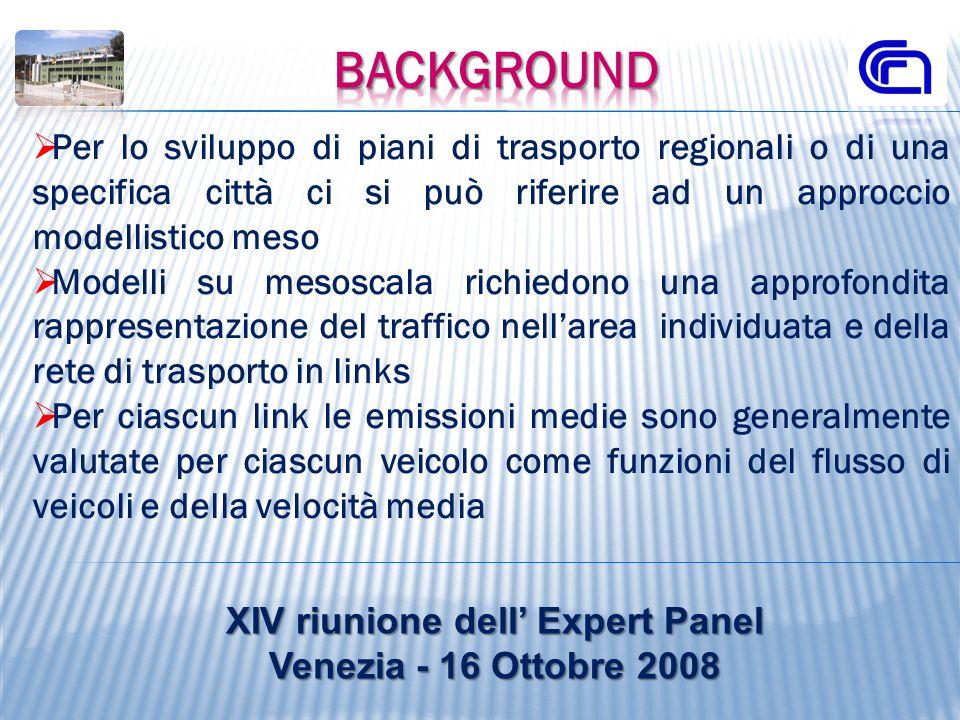 Per lo sviluppo di piani di trasporto regionali o di una specifica città ci si può riferire ad un approccio modellistico meso Modelli su mesoscala ric