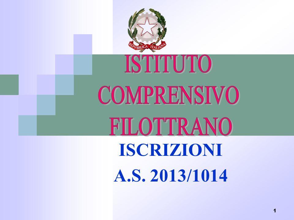 1 ISCRIZIONI A.S. 2013/1014