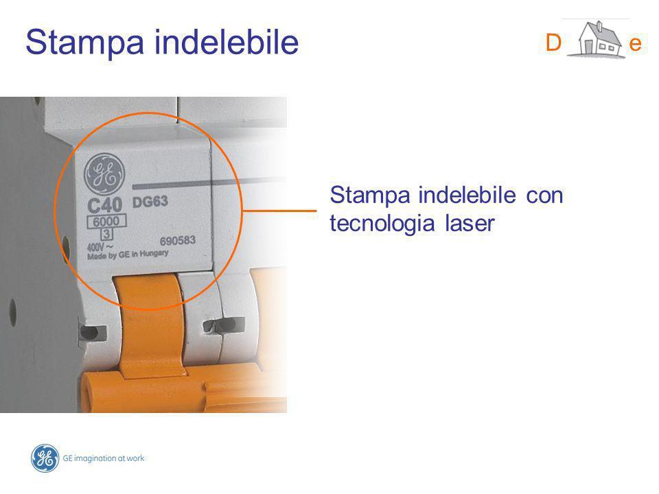 Stampa indelebile con tecnologia laser DMS-line Stampa indelebile