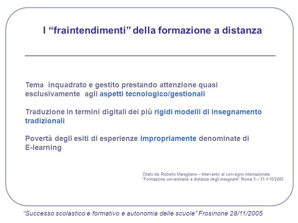 Tema inquadrato e gestito prestando attenzione quasi esclusivamente agli aspetti tecnologico/gestionali Traduzione in termini digitali dei più rigidi