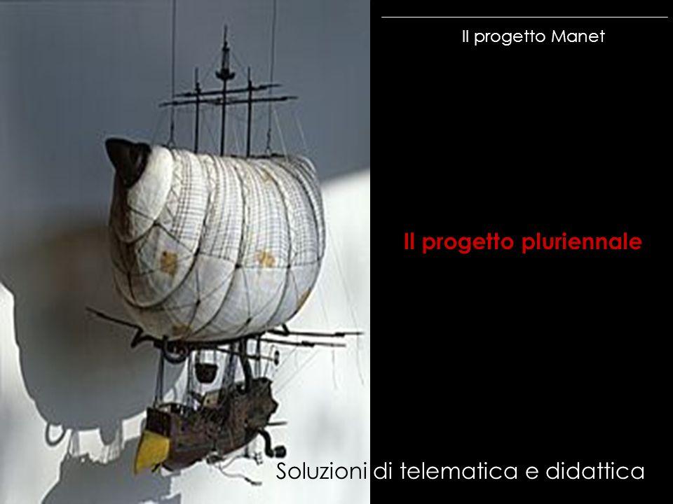 Il progetto Manet Il progetto pluriennale Soluzioni di telematica e didattica
