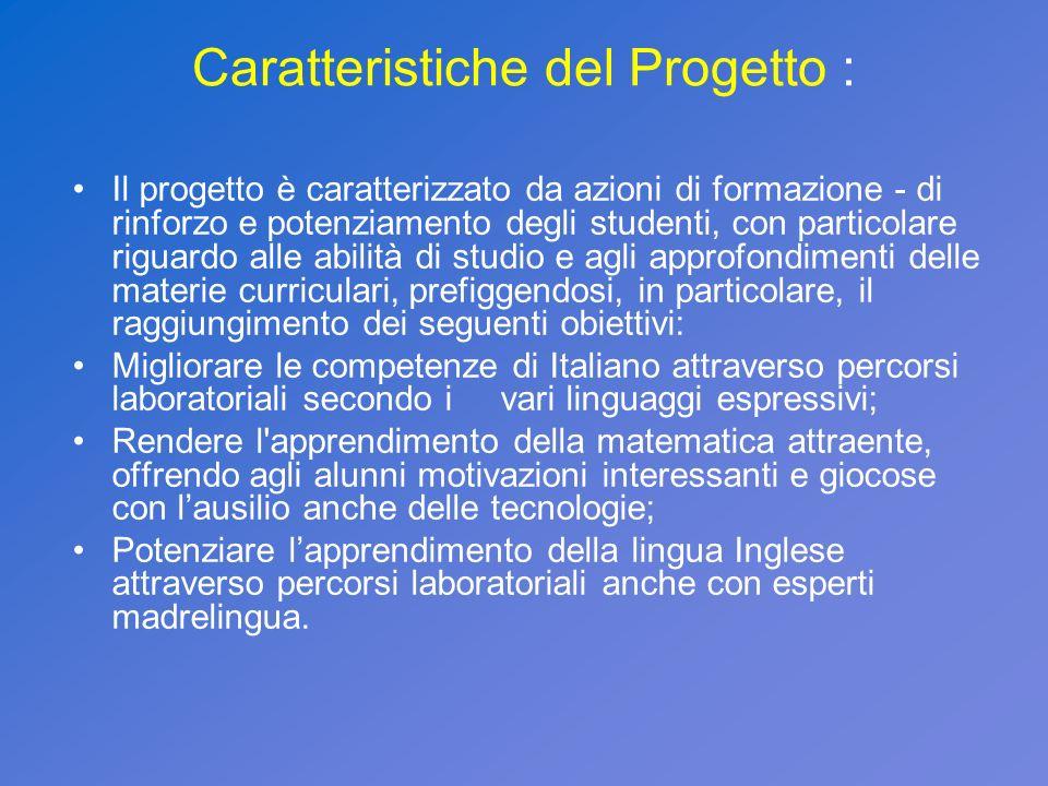 IL PERCORSO FORMATIVO C1 PREVEDE: Linserimento di 3 alunni diversamente abili: - n.