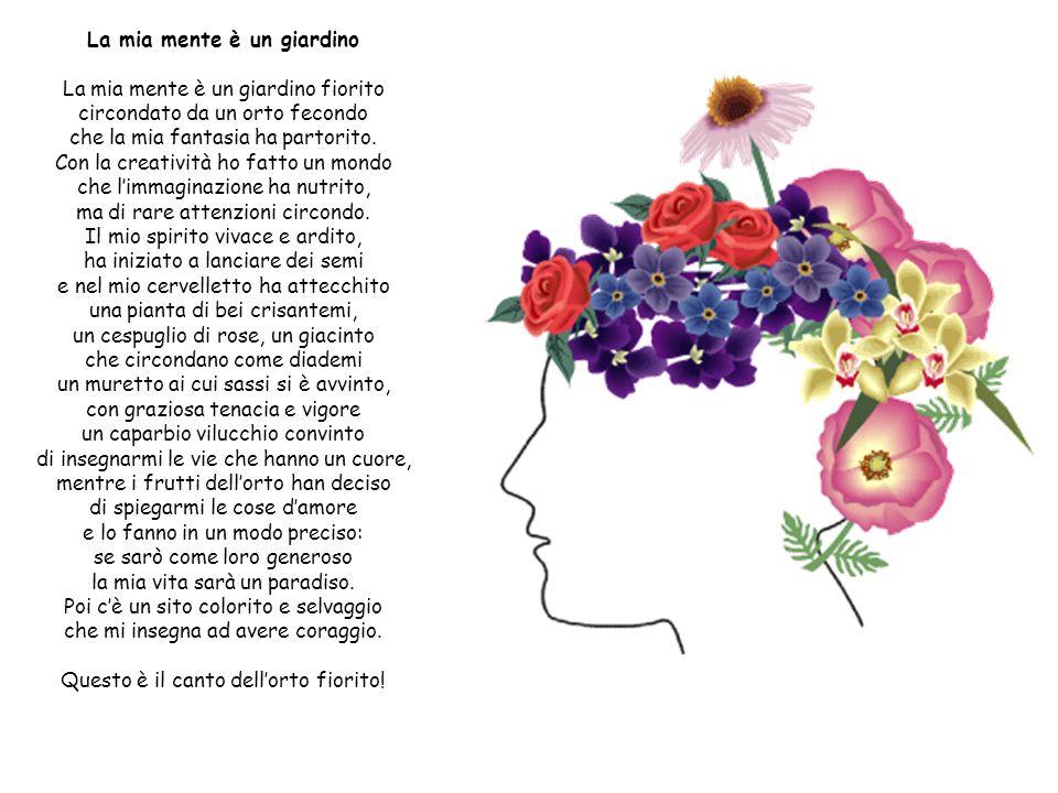 FIOR DI CICORIA E IRIS Un Fiore di Cicoria vide una Iris Viola che stava sola, sola tutta piena di boria. Il Fior, naturalmente se n'era innamorato e
