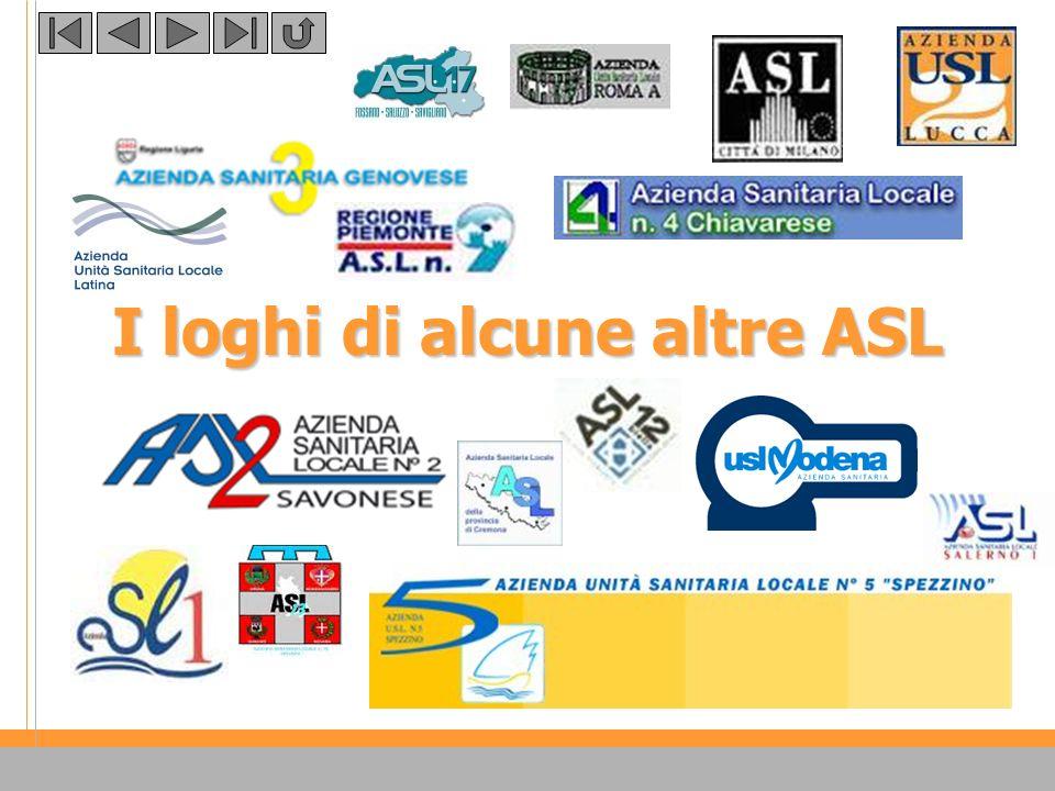 Verso il nuovo logo… Un logotipo che trasmetta in sintesi la mission dellazienda ASL