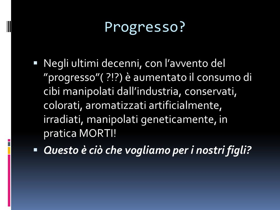 Progresso.