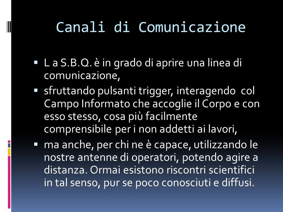 Canali di Comunicazione L a S.B.Q.