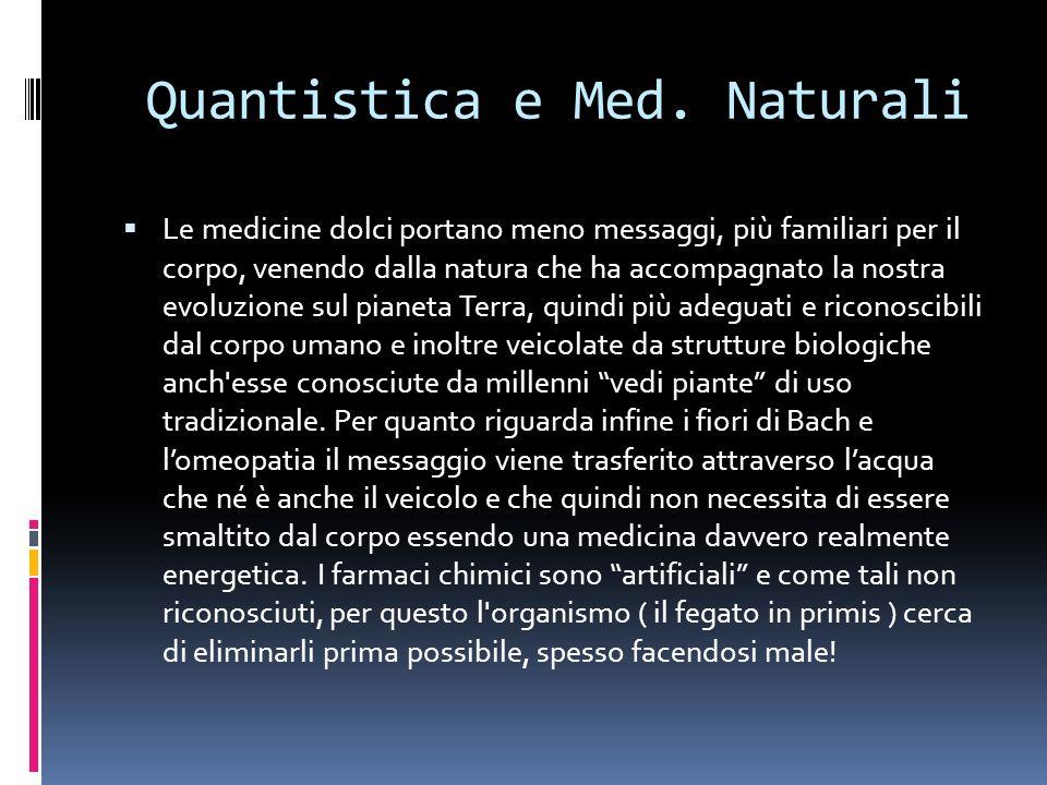 Quantistica e Med.