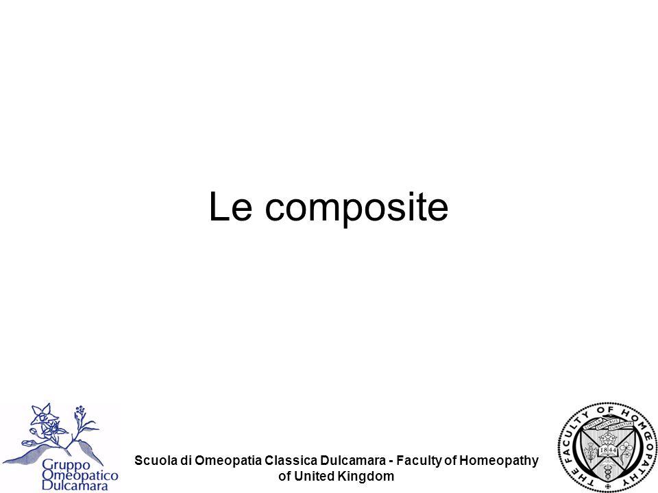 Scuola di Omeopatia Classica Dulcamara - Faculty of Homeopathy of United Kingdom Le Asteracee (Asteraceae note anche come Compositae) sono una vasta famiglia di dicotiledoni dellordine Asteeales.