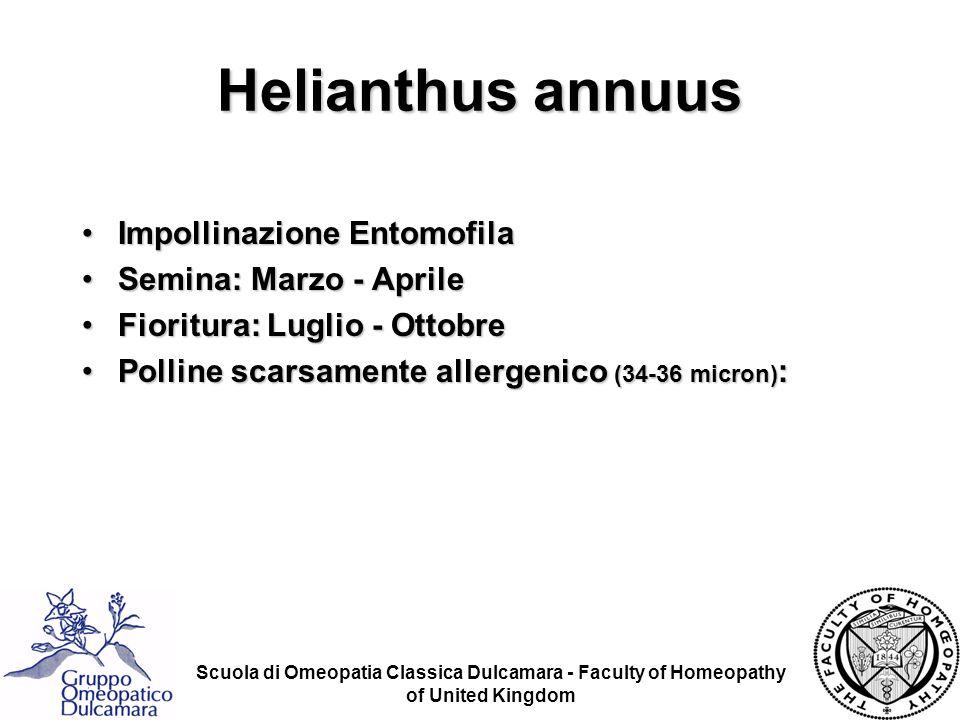 Scuola di Omeopatia Classica Dulcamara - Faculty of Homeopathy of United Kingdom Impollinazione EntomofilaImpollinazione Entomofila Semina: Marzo - Ap