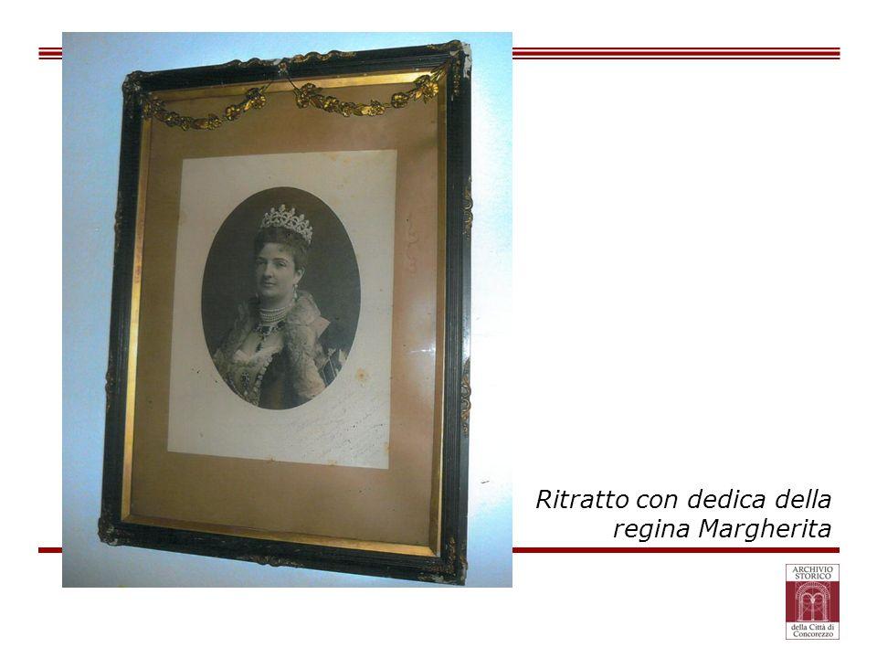 Ritratto con dedica della regina Margherita