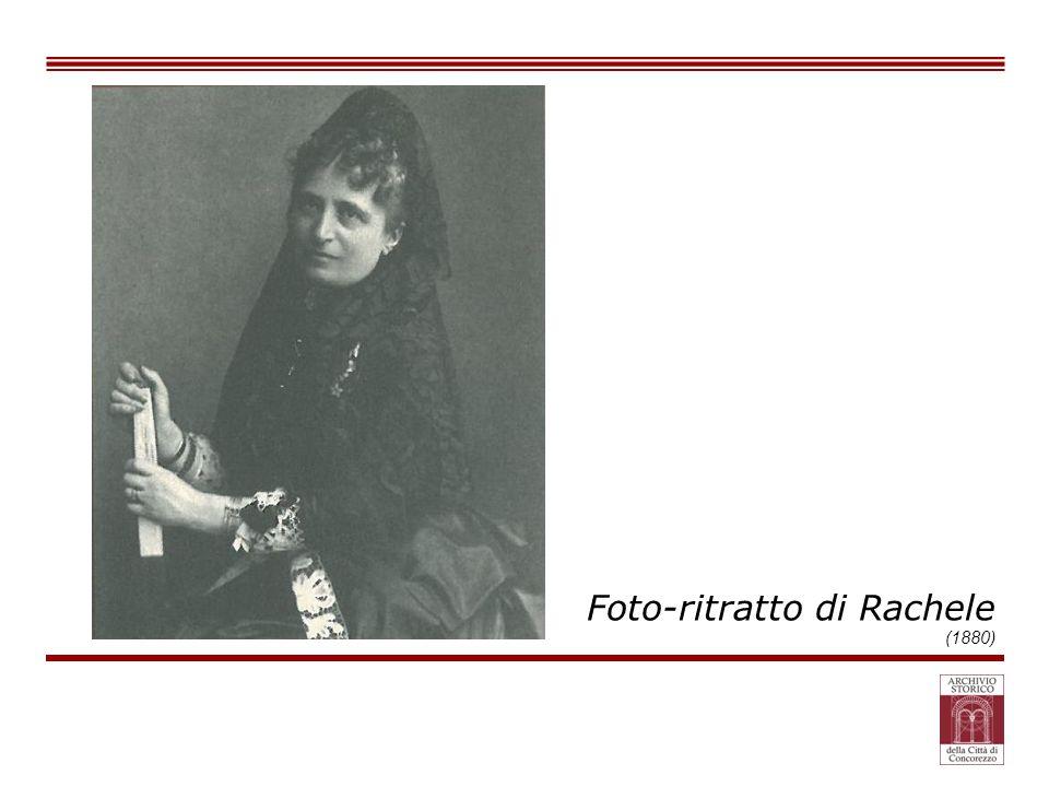 Foto-ritratto di Rachele (1880)