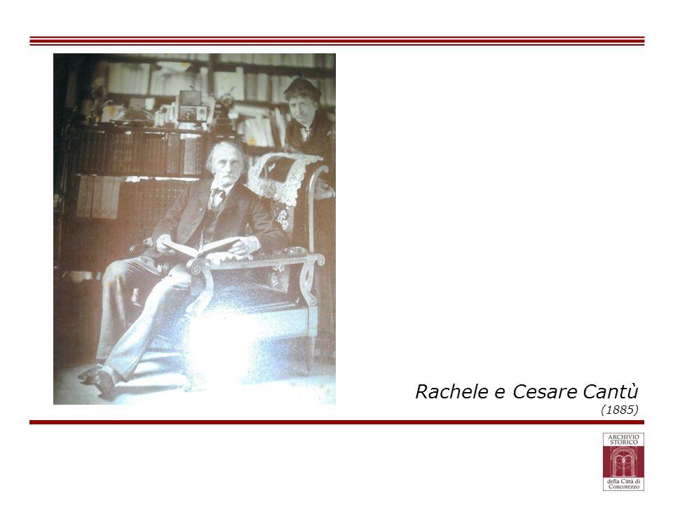 Rachele e Cesare Cantù (1885)