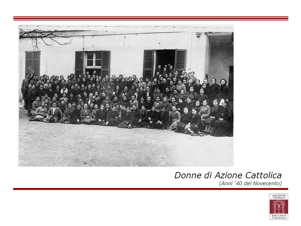 Donne di Azione Cattolica (Anni 40 del Novecento)