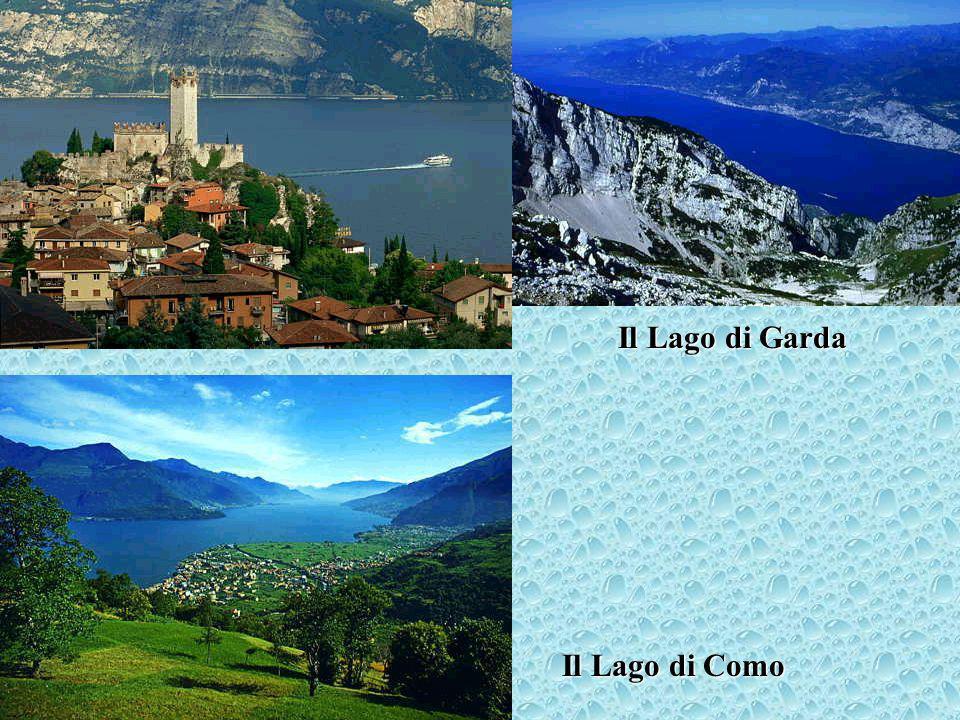 Il Lago di Sauris nel Friuli Venezia Giulia Lago Maggiore Il Lago Maggiore con una veduta delle isole Borromee
