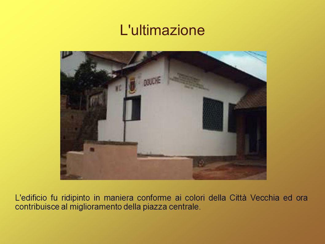 La cerimonia d inaugurazione Il primo dicembre 2009 si è tenuta la cerimonia di trasferimento della gestione dei servizi igienici all associazione locale Fidera, che assicurerà un adeguata pulizia e manutenzione dell infrastruttura.