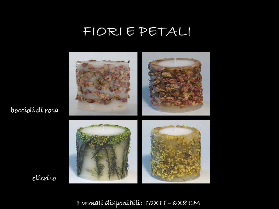 Formati disponibili: 10X11 - 6X8 CM FIORI E PETALI boccioli di rosa elicriso
