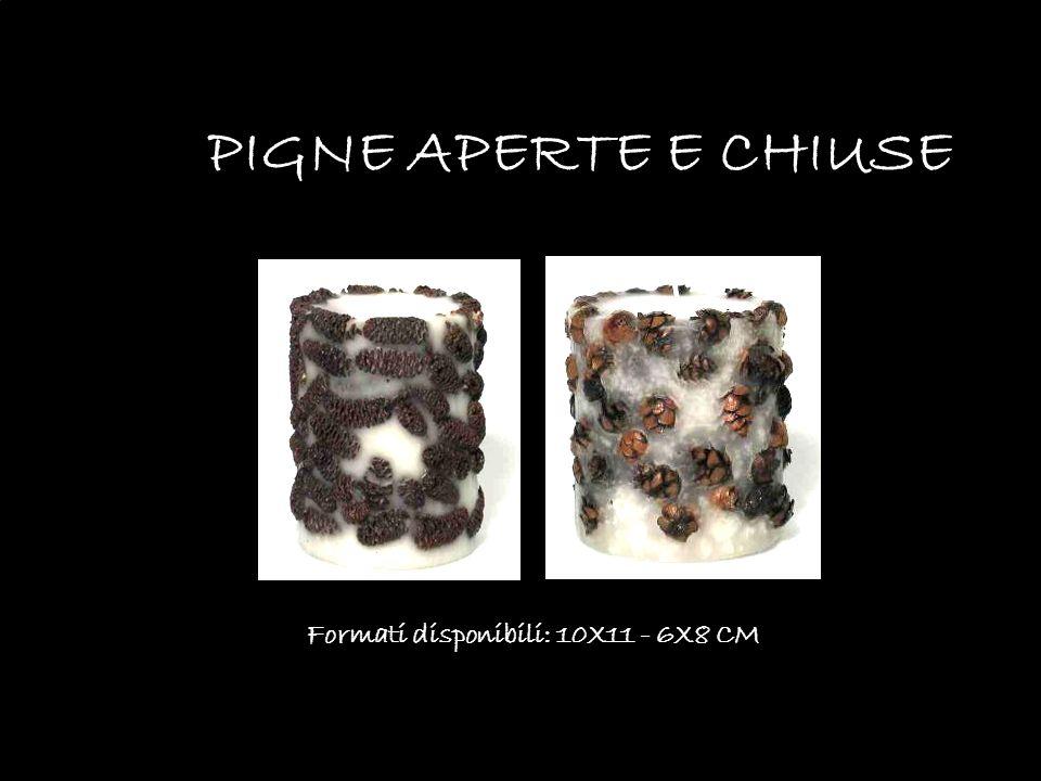 Formati disponibili: 10X11 - 6X8 CM PIGNE APERTE E CHIUSE