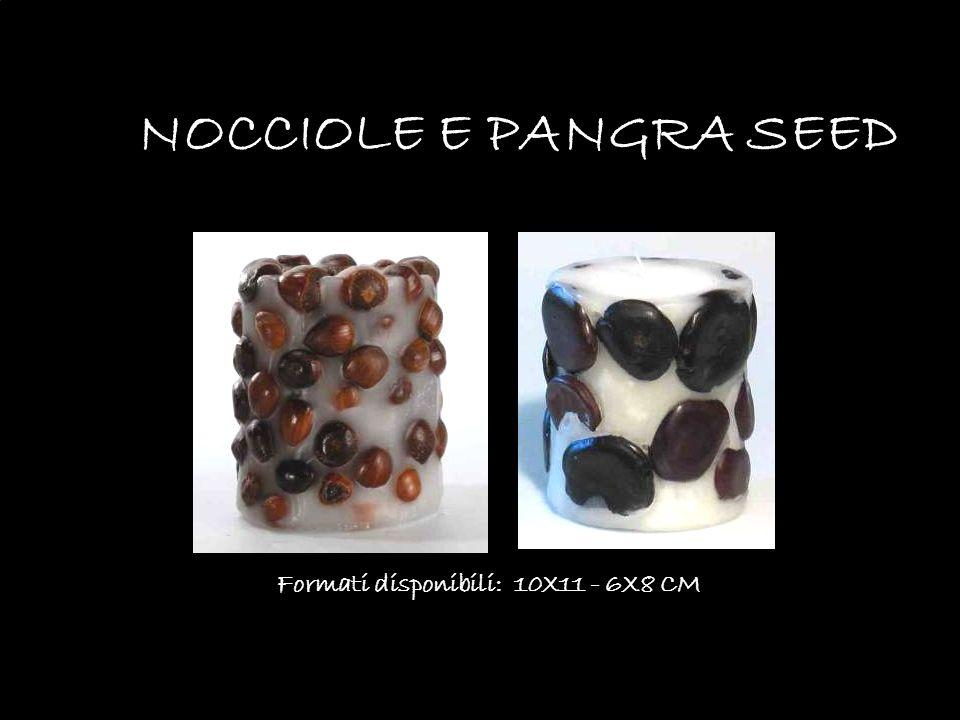 NOCCIOLE E PANGRA SEED Formati disponibili: 10X11 - 6X8 CM