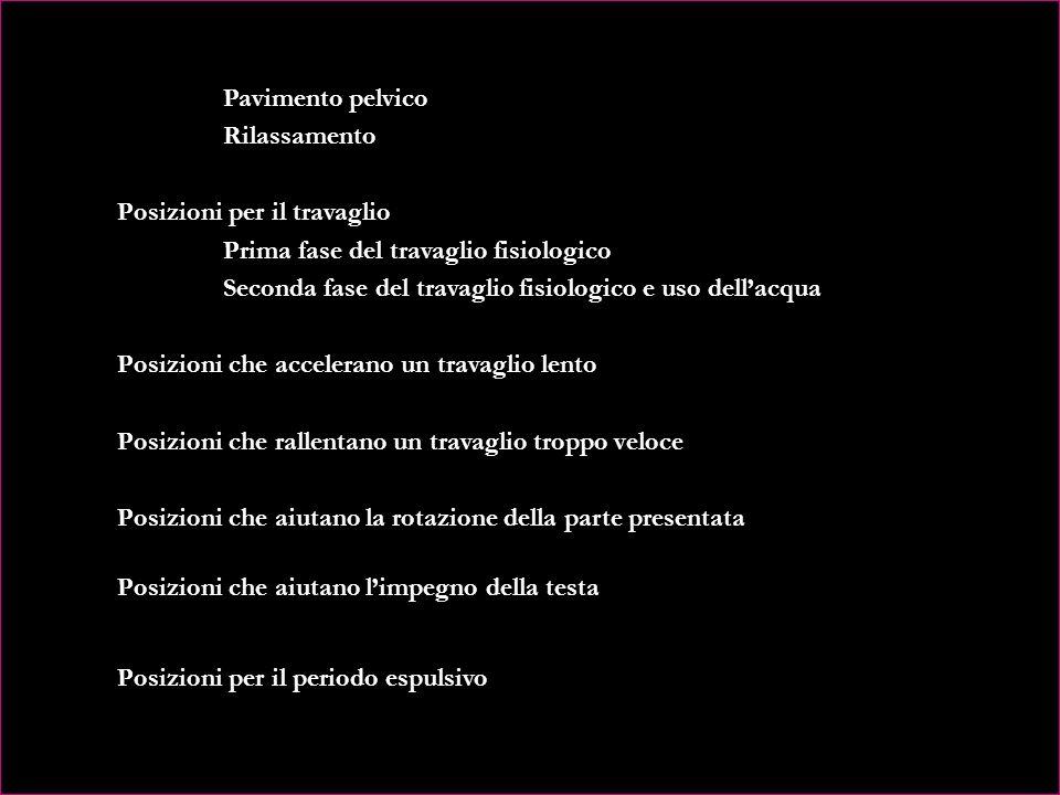 CAPITOLO X - CORSO DI PREPARAZIONE AL PARTO, 3° TRIMESTRE Strumenti del corso Metodologia Incontri di coppia Acquaticità alle terme Esercizi di coppia