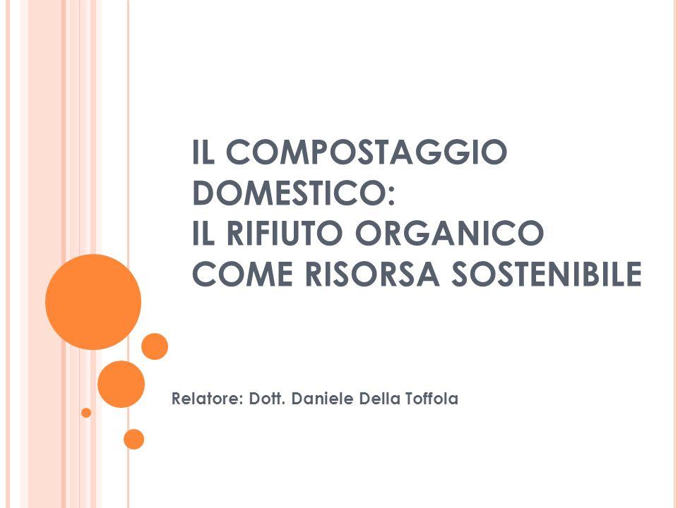 Chiusura locale dei cicli U N PRINCIPIO GENERALE DI COMPORTAMENTO Distribuzione e consumo Recupero e riciclo Risorse Trasformazione