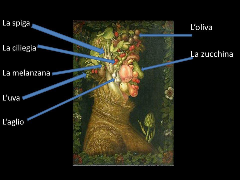 Loliva La zucchina la pesca La spiga La ciliegia La melanzana Luva Laglio