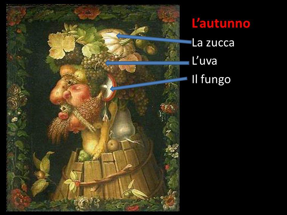 Lautunno La zucca Luva Il fungo La mela