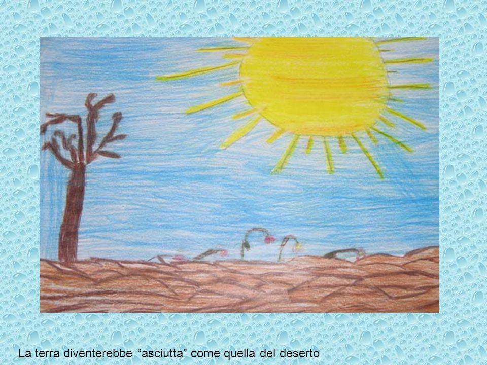 La terra diventerebbe asciutta come quella del deserto