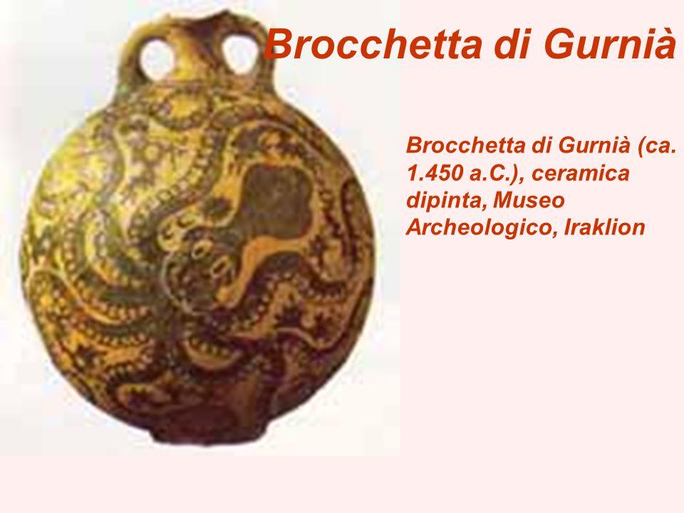 Brocchetta di Gurnià (ca. 1.450 a.C.), ceramica dipinta, Museo Archeologico, Iraklion Brocchetta di Gurnià