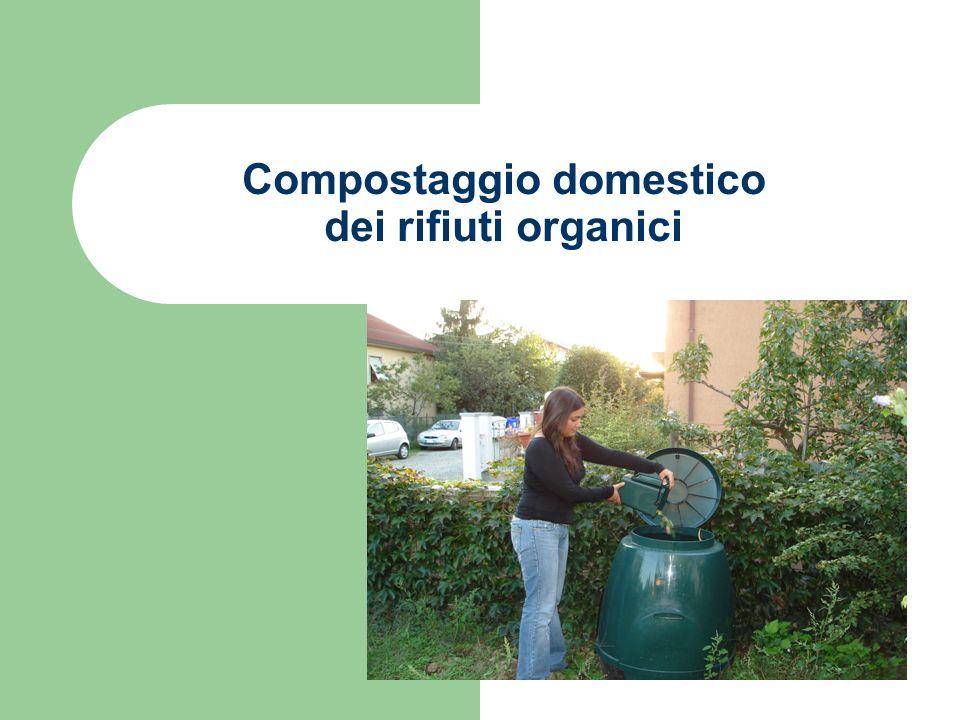 Compostaggio domestico dei rifiuti organici