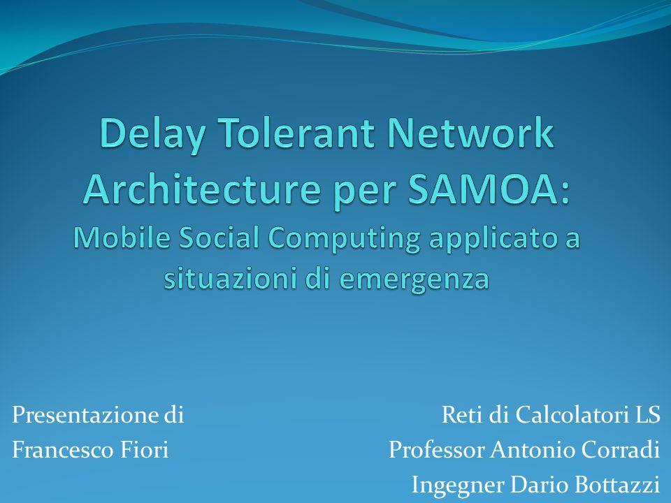 Reti di Calcolatori LS Professor Antonio Corradi Ingegner Dario Bottazzi Presentazione di Francesco Fiori