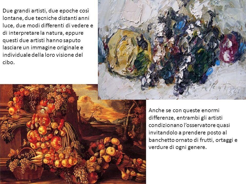 Due grandi artisti, due epoche così lontane, due tecniche distanti anni luce, due modi differenti di vedere e di interpretare la natura, eppure questi