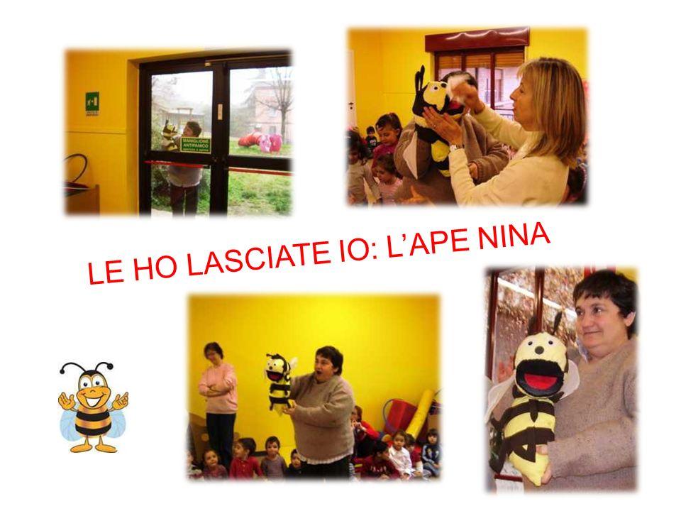 LE HO LASCIATE IO: LAPE NINA