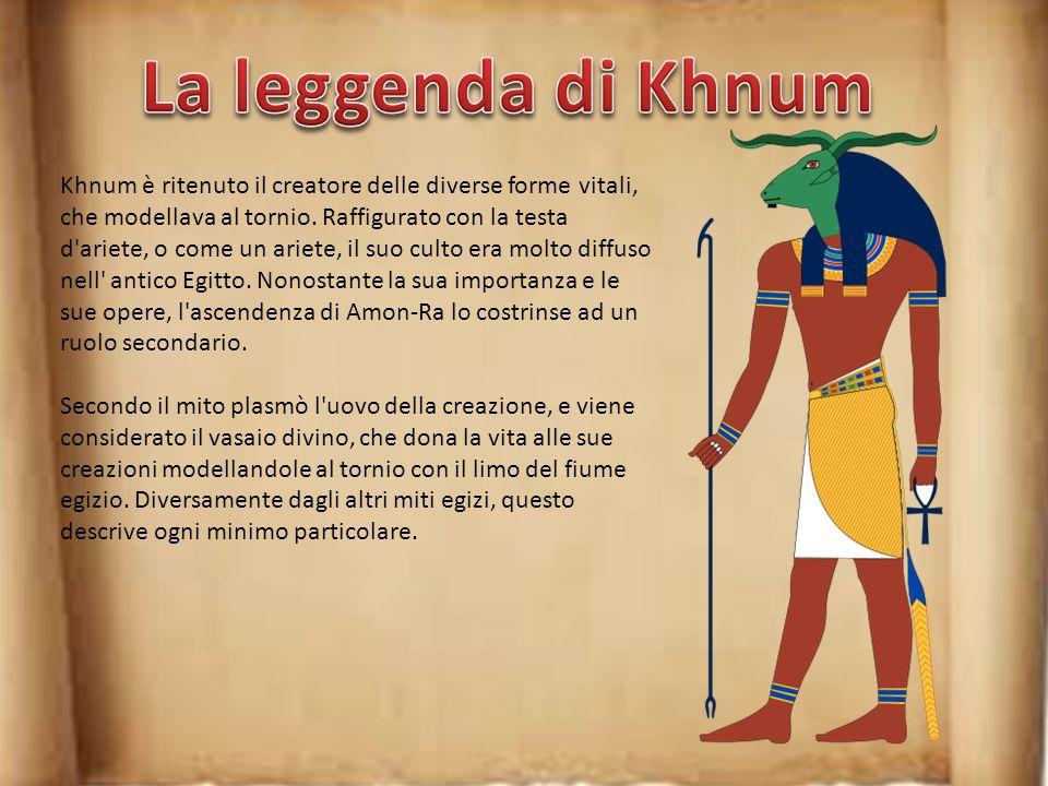 Il mito narra che Ra, infuriato, provocò una siccità. Quando si fu calmato, mandò Thot a cercare Bastet in Nubia, dove la dea si nascondeva sotto form