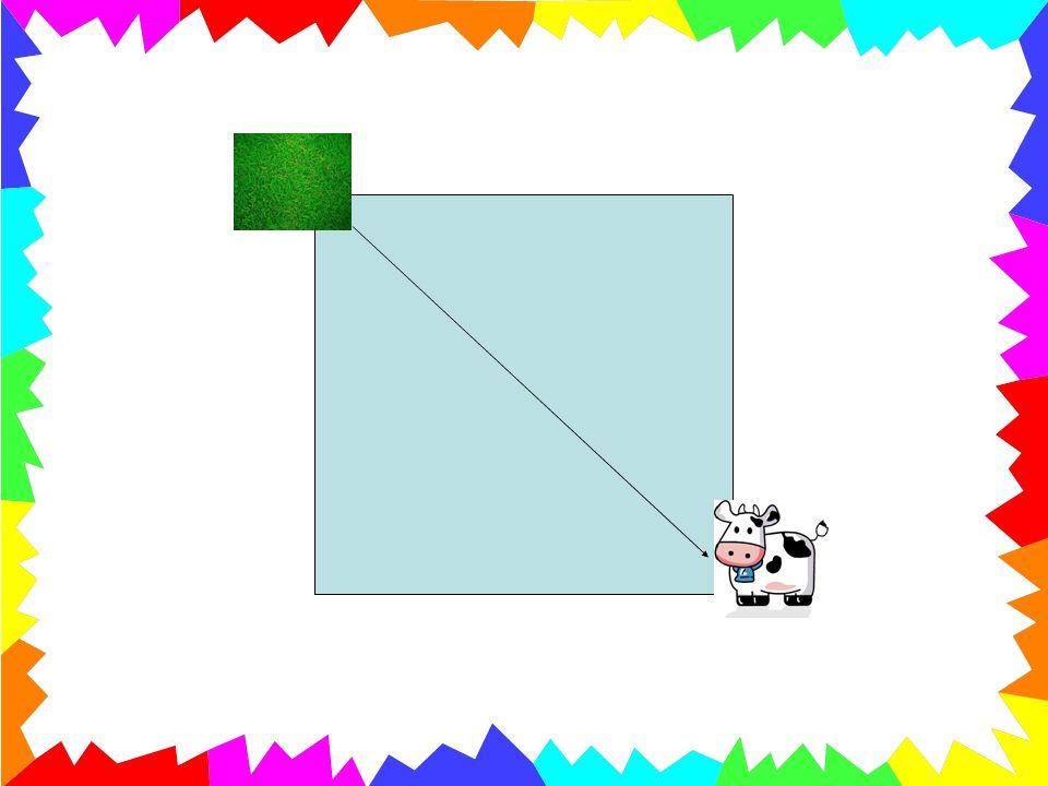 «Cosa mangia il coniglio?» La risposta sarà: «la carota» Il bambino dovrà portare il coniglio alla carota, piegando il foglio e tracciando così la seconda linea per la costruzione del Tangram.