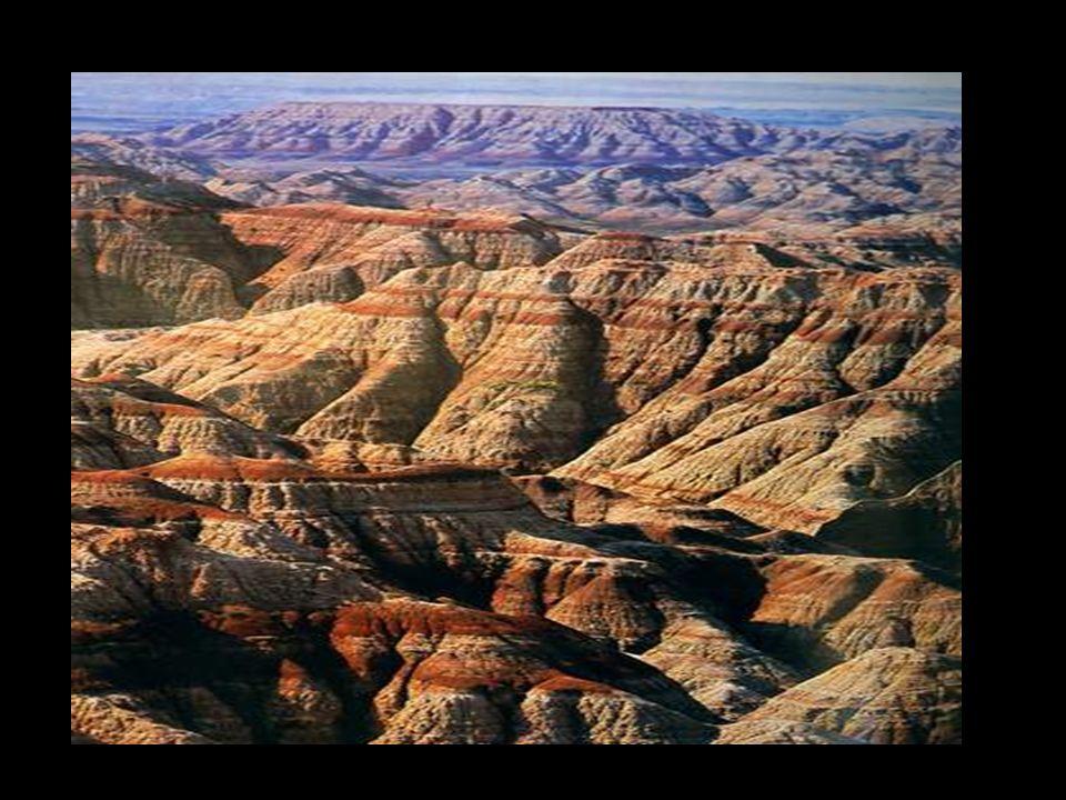 La formazione di arenaria di Navajo Il colore rosso è dovuto alla presenza di ferro nel terreno