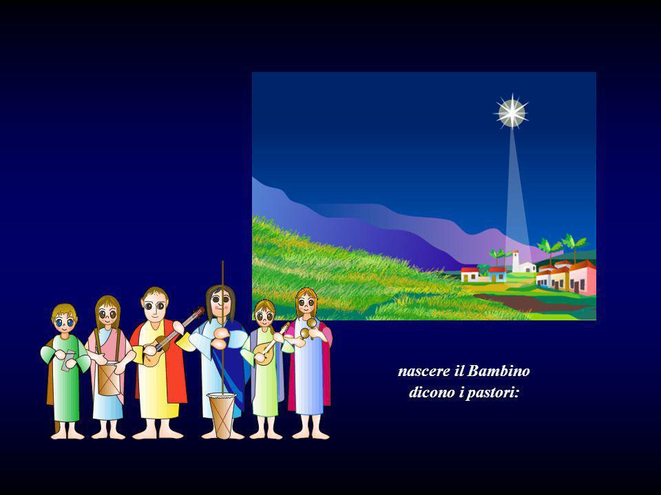 San Giuseppe e la Vergine, lasino e il bue furono coloro che videro nascere il Bambino.