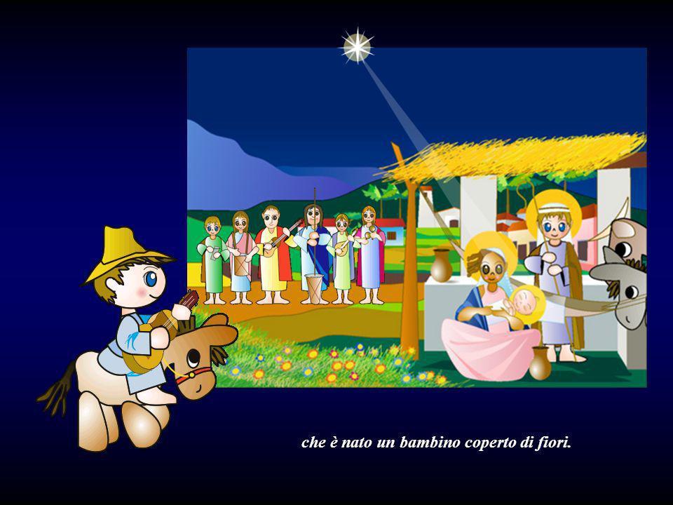 nascere il Bambino dicono i pastori: