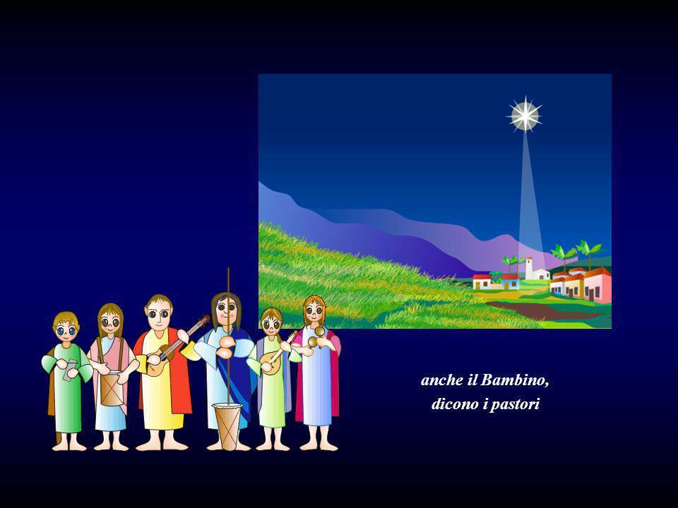 Corri cavallino, andiamo a Betlemme a vedere Maria e il Bambino Gesù.