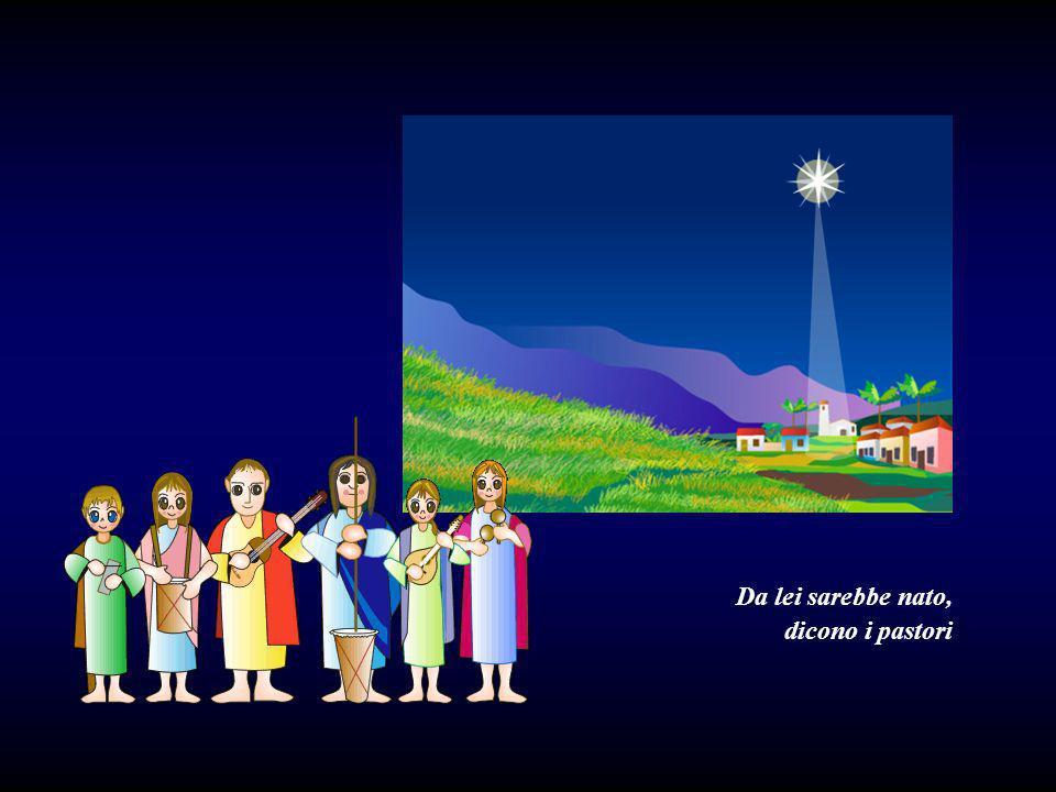 Langelo Gabriele aveva annunciato a Maria che il Bambino divino sarebbe nato da lei.