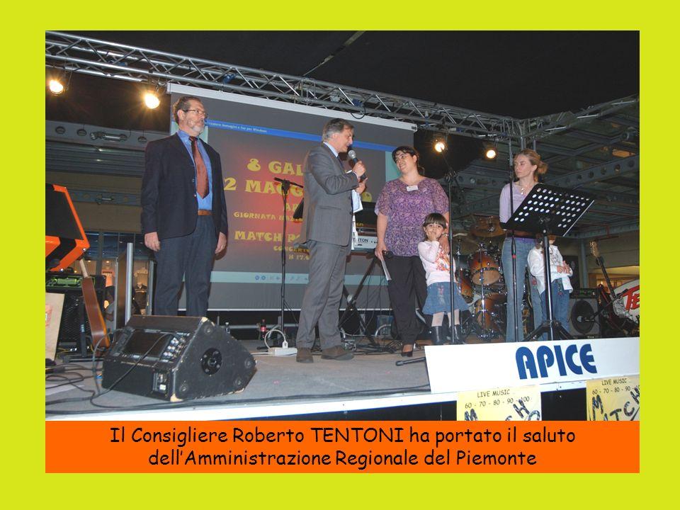 Il Consigliere Roberto TENTONI ha portato il saluto dellAmministrazione Regionale del Piemonte