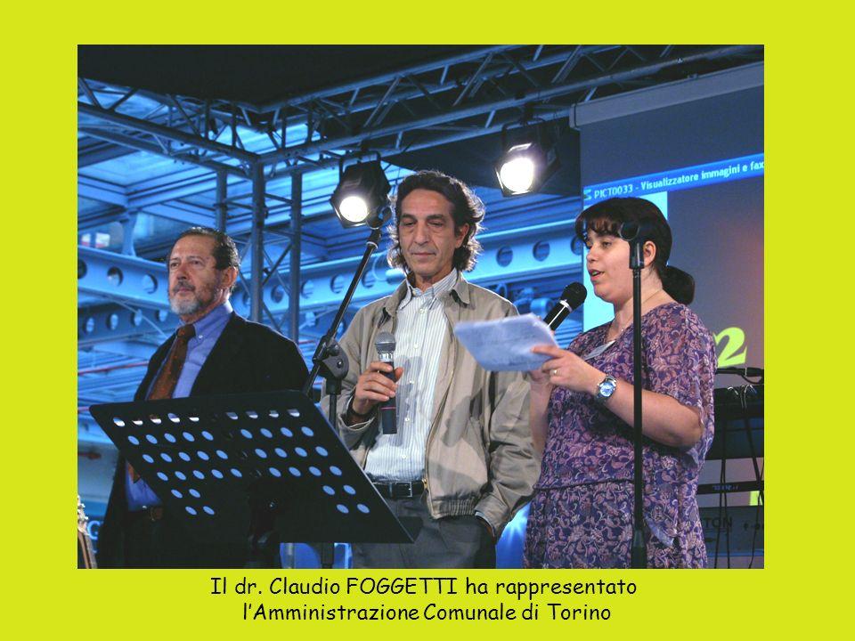 Il dr. Claudio FOGGETTI ha rappresentato lAmministrazione Comunale di Torino