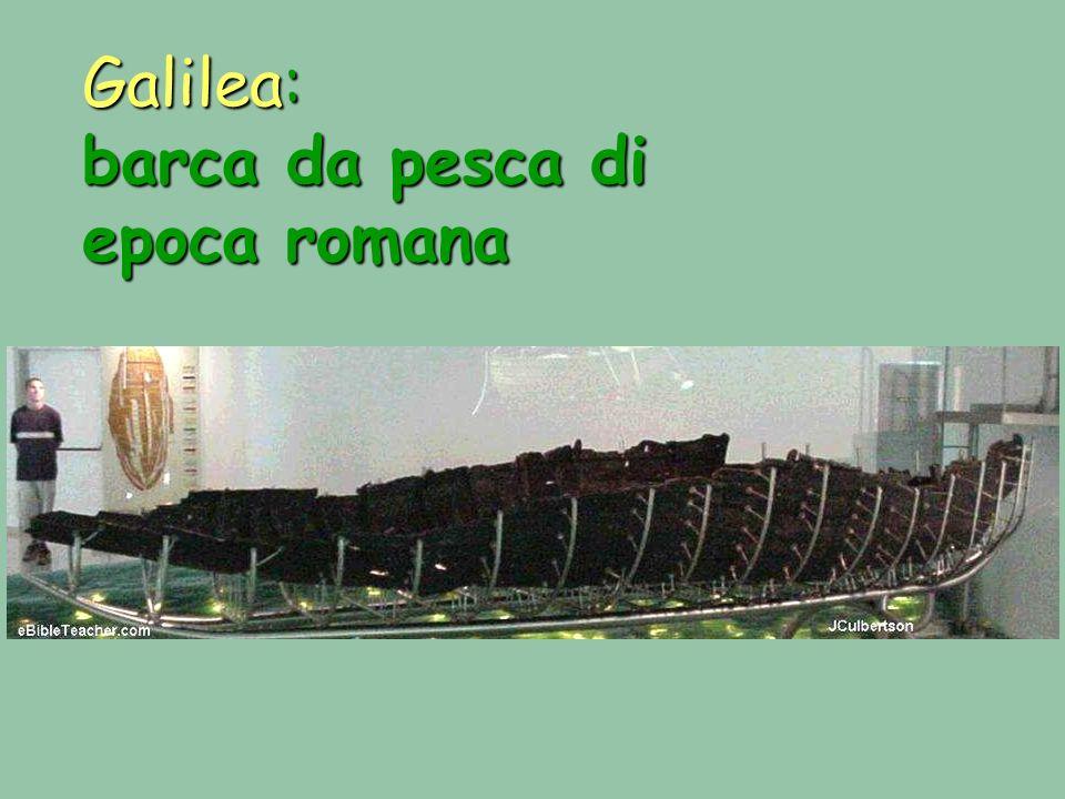 Galilea: barca da pesca di epoca romana