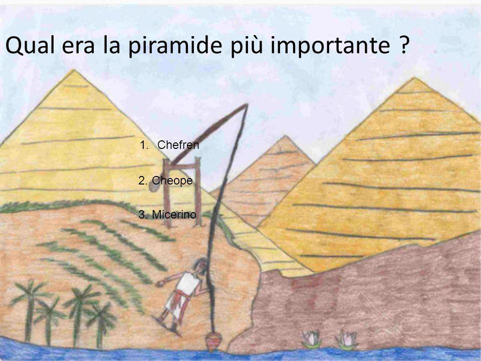 PERCHÉ GLI EGIZI METTEVANO LE TRAPPOLE ALL INTERNO DELLE PIRAMIDI? 2. Per non far rubare ai ladri le cose preziose della tomba. 1. Per bellezza 3. Per