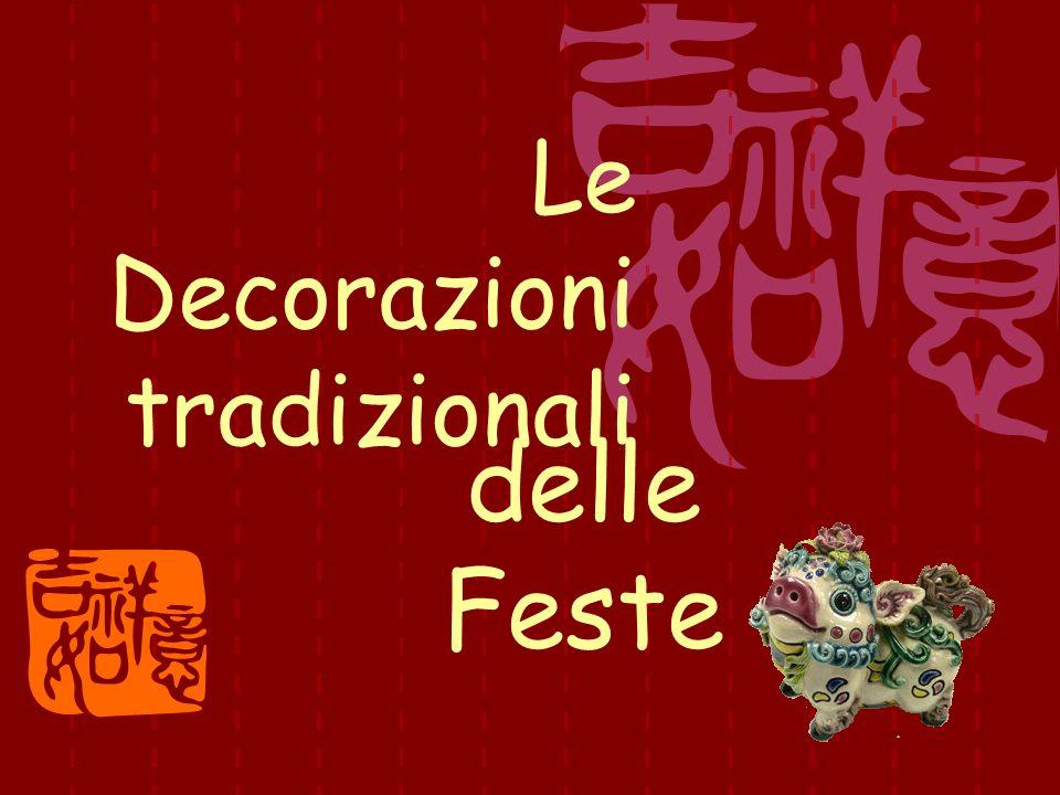 Le Decorazioni tradizionali delle Feste
