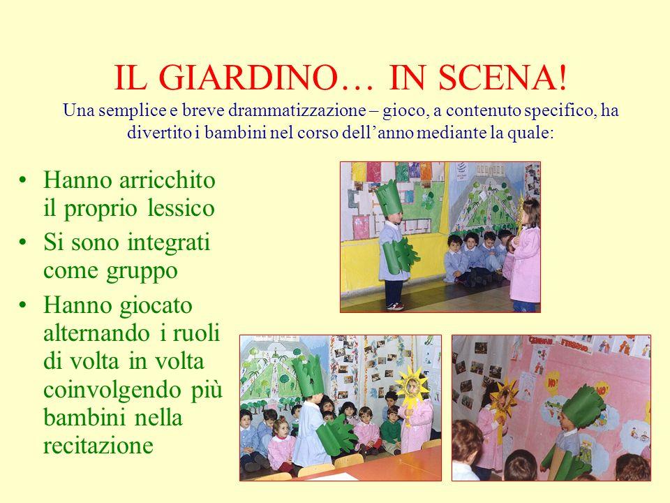 IL GIARDINO… IN SCENA.