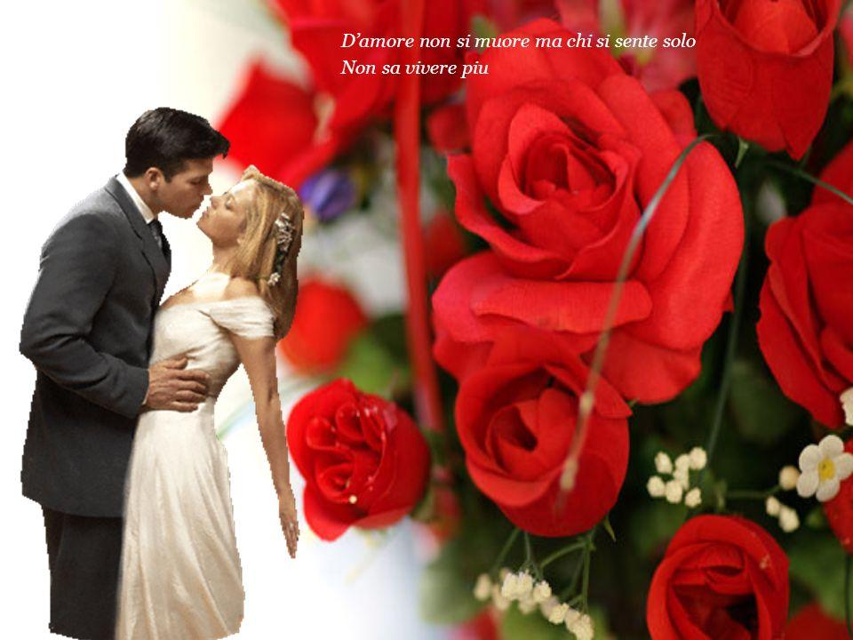 Rose rosse per te ho comprato stasera E il tuo cuore lo sa cosa voglio da te