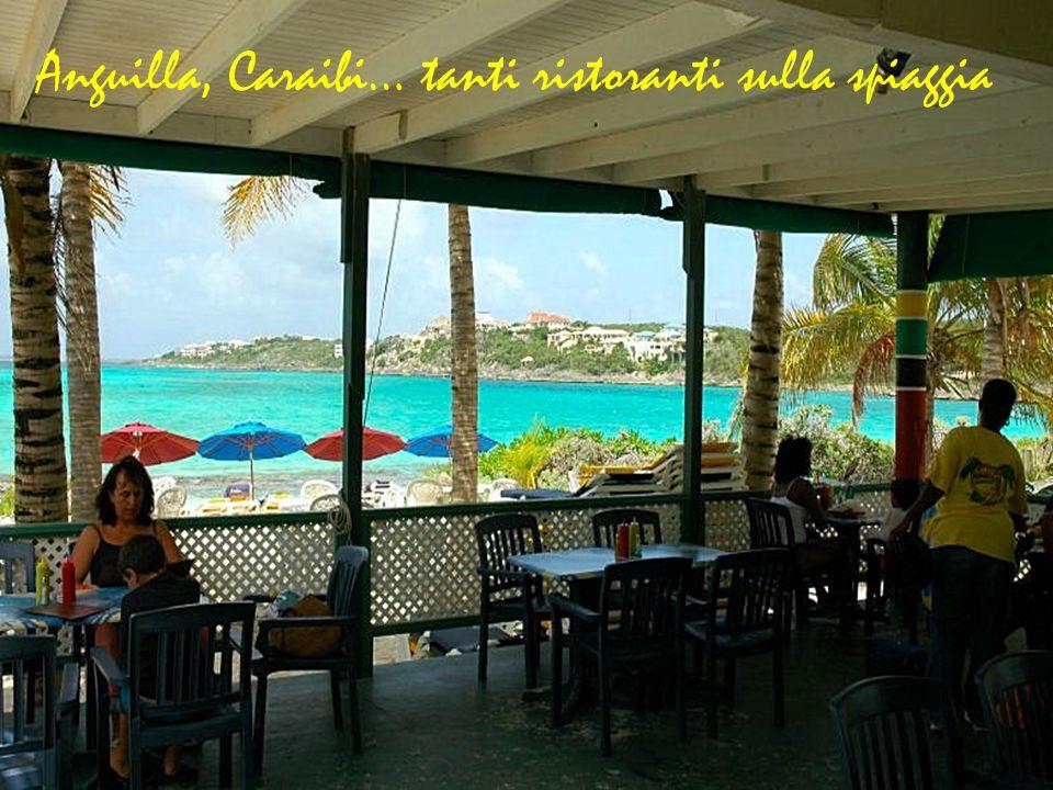 Anguilla, Caraibi… tanti ristoranti sulla spiaggia