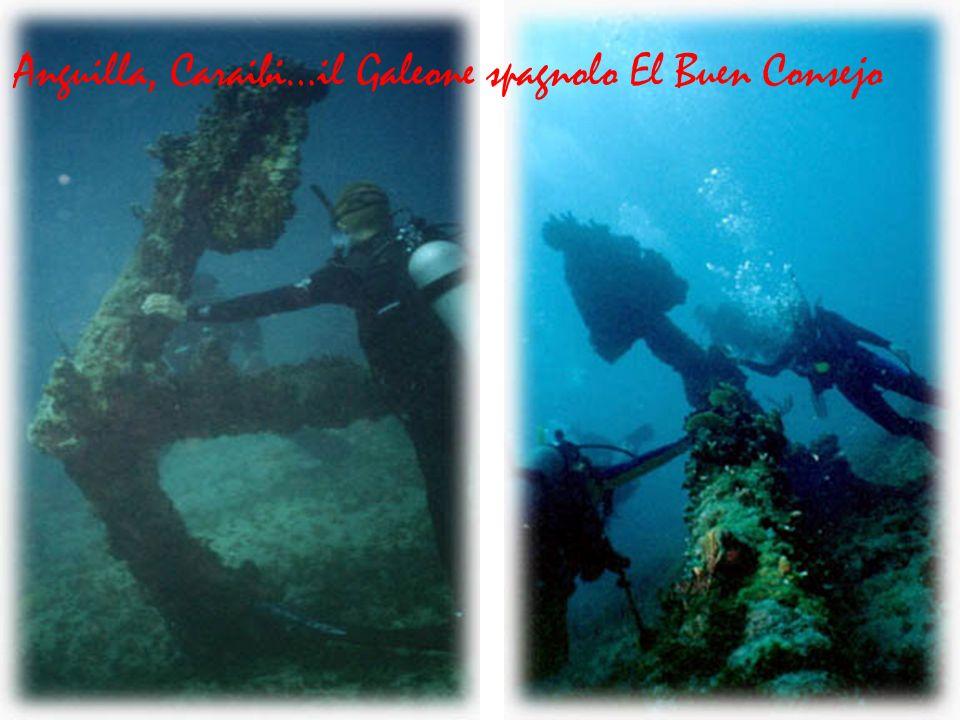 Anguilla, Caraibi…il Galeone spagnolo El Buen Consejo