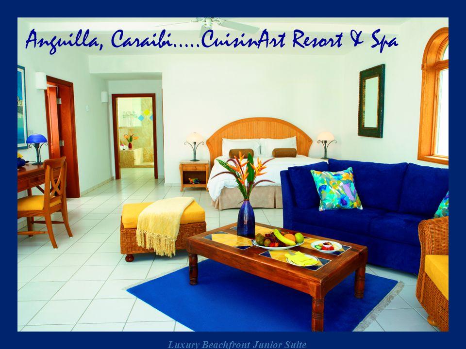 Luxury Beachfront Junior Suite Anguilla, Caraibi…..CuisinArt Resort & Spa