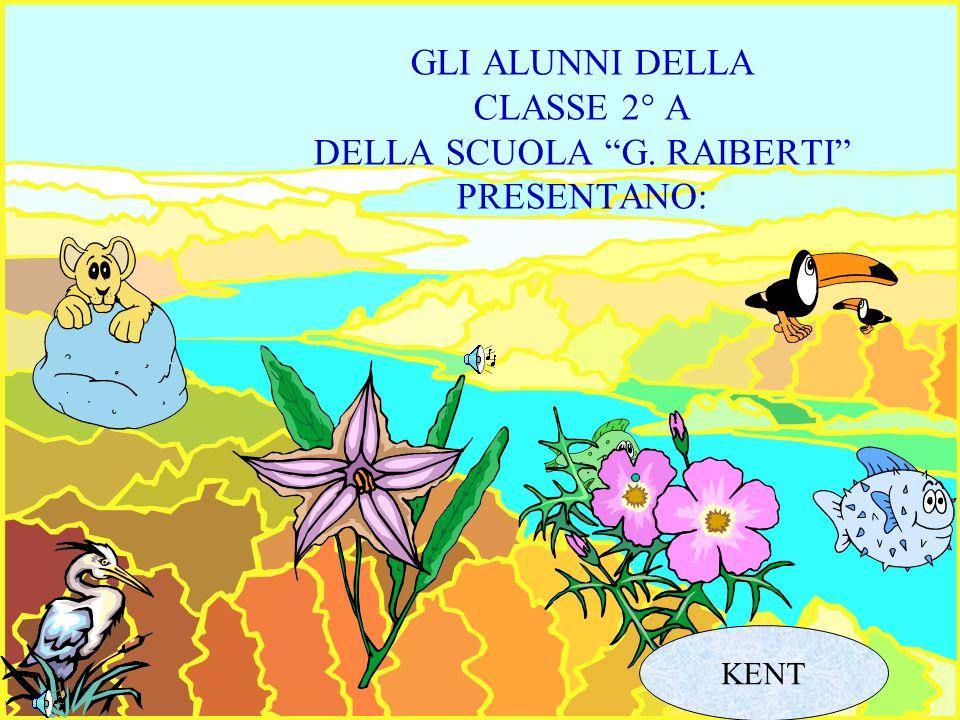 GLI ALUNNI DELLA CLASSE 2° A DELLA SCUOLA G. RAIBERTI PRESENTANO: KENT